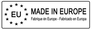 MADE IN EUROPE - 50x16mm